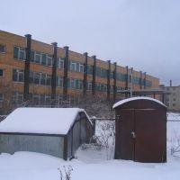 Средняя школа №4, вид сзади, Балабаново