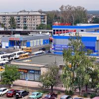 Вокзал и магазины, Балабаново