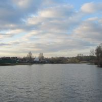 Пруд ранней весной, Белоусово