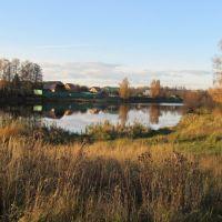 Осенний пруд, Белоусово