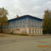 Боровск - дом с рисунком, Боровск
