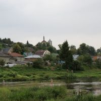 Боровск, Вид от Реки, Боровск