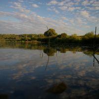 Калужская область. Река Ока., Дугна