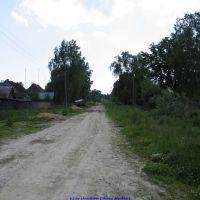 Улица Октябрьская в сторону ул. Королёва (11.06.2009), Еленский