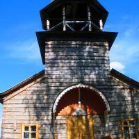 Строящаяся церковь в п.Еленский, Еленский