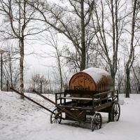 """Kozel"" beer carriage, Калуга"