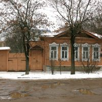 House, where K.E.Tsiolkovsky lived 1933-35, the last two years of his life, Калуга