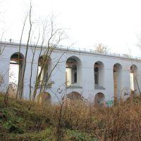 Акведук,сооруженный в XVIII веке по проекту Никитина, через Березуйский овраг., Калуга