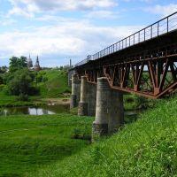 Ж/Д мост, Козельск