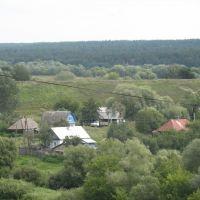 """Вид со стороны """"древнего города"""" на окружающую территорию., Козельск"""
