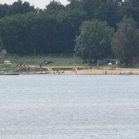 озеро Ломпадь_вид на пляж, Людиново
