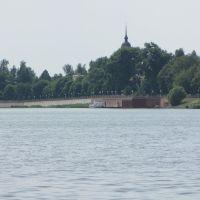 озеро Ломпадь_вид на набережную, Людиново