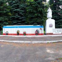 Памятник ВОВ, войны в Афганистане и войны в Чечне, Медынь