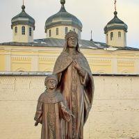 Iskra. St. George Monastery Искра. Свято-Георгиевский монастырь, Мещовск