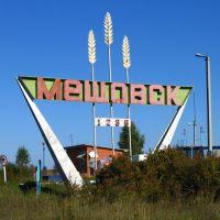 Въезд в Мещовск / Town entrance, Мещовск