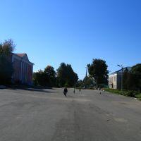 Площадь / Square, Мещовск