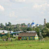 Мещовск. Общий вид города с северо-западной стороны, Мещовск