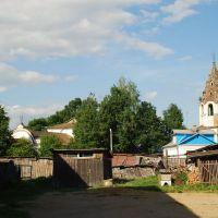 Мещовск. Старый Благовещенский собор и колокольня, Мещовск