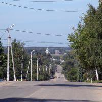 Мещовск. Центральная улица, Мещовск