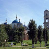 Мещовск. Благовещенский собор и колокольня. Август 2007 года, Мещовск