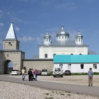 Iskra village. St. Georges Monastery. посёлок Искра. Свято-Георгиевский монастырь., Мещовск