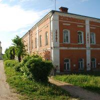 Мосальск. Купеческий дом, в котором теперь помещается краеведческий музей, Мосальск