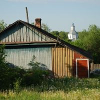 Мосальск. Дальний вид на церковь Св. Троицы, Мосальск