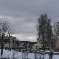Вид от рынка, Мосальск