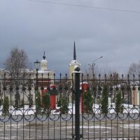 Вид из рынка, Мосальск