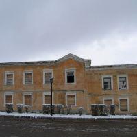 Заброшенное здание, Мосальск
