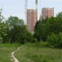 Вид на стройку (2008), Обнинск