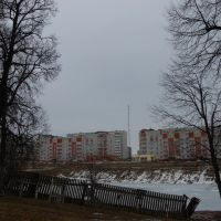 Obninsk, the view from Belkino village, Обнинск