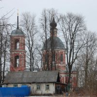 Obninsk, the Boris and Gleb church in Belkino, Обнинск
