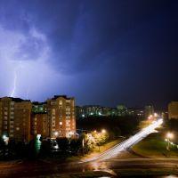 Витиеватая молния, Обнинск