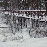 Подвесной мост, Обнинск