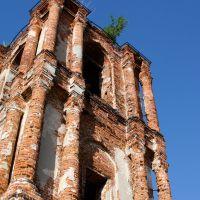 Полуразрушенный Успенский Собор, Перемышль