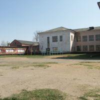 Двор школы, Спас-Деменск