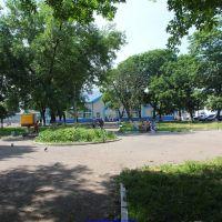 Парк у станции Сухиничи (13.06.2011), Сухиничи
