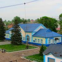 Вокзал з пішоходного мосту, Сухиничи