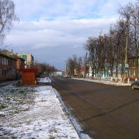 Улица Ленина / Lenina street, Сухиничи