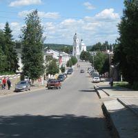 Вид на центральную площадь, Таруса