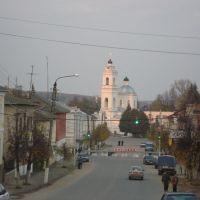 Вид на церковь Петра и Павла, Таруса