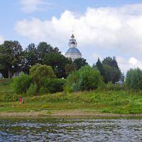 Собор Петра и Павла, вид с Оки, Таруса