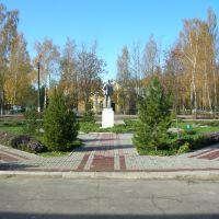 Перед зданием администрации, Ферзиково