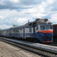 Д1-748 отправляется в Алексин (Калуга - Алексин), Ферзиково