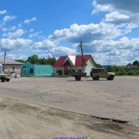 с.Хвастовичи, поворот на Красное (06.06.2010), Хвастовичи