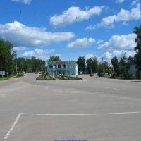 Центральная площадь в с.Хвастовичи (06.06.2010), Хвастовичи