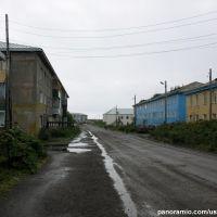 улица в Озерновском / settlement Ozernovsky, Озерновский