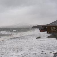 Осенний шторм, Вилючинск