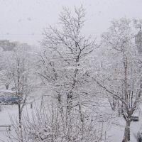 Первый снег, Вилючинск